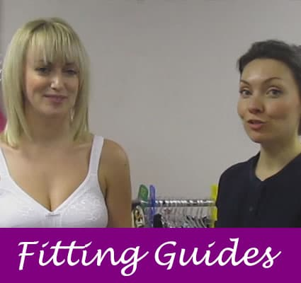 Bra fitting guides
